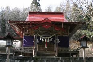 九戸神社2(九戸村提供)