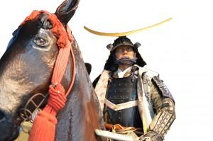 政宗騎馬像